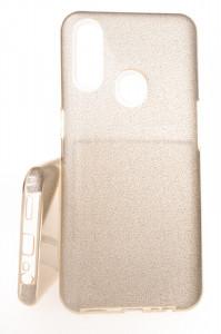Pouzdro Glitter 3V1 Case OPPO A31 Zlaté