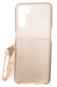 Pouzdro Glitter 3V1 Case OPPO A91 Zlaté