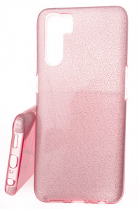 Pouzdro Glitter 3V1 Case OPPO A91 Růžové