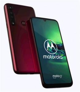 Motorola Moto G8 Plus 4+64GB DS gsm tel. Crystal Pink