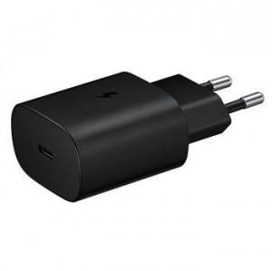 EP-TA800EBE Samsung USB-C Cestovní nabíjačka Black (OOB Bulk)