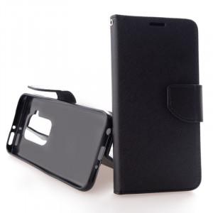 Pouzdro TEL1 Fancy Diary Motorola One Zoom Černé