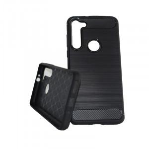 Puzdro CARBON LUX Motorola G8 Power Černé