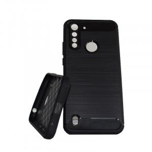Pouzdro CARBON LUX Motorola G8 Power Lite Černé