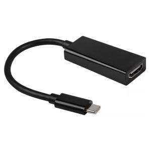 Adaptér - USB Typ C na HDMI 4K*2K 0,25 m Černý