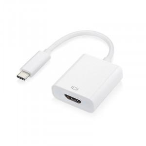 Adaptér - USB Typ C na HDMI 4K*2K 0,25 m Bílý