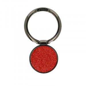 Držák Ring Glitter Červený