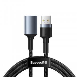 Baseus CADKLF-B0G USB / prodlužovací - USB 3.0 male - USB 3.0 female, šedý