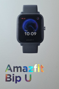 Amazfit Bip U chytré hodinky, Black 473852