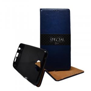 Pouzdro Book special magnet Xiaomi Redmi Note 9 Pro / Note 9 Pro Max Modré