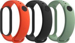 Xiaomi Original Mi Band 5 Strap Set Black/Orange/Teal