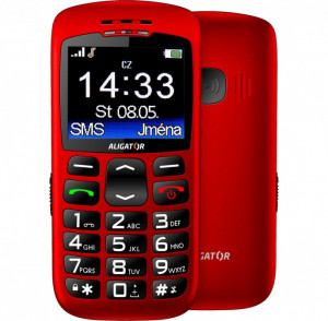 Aligator A670 Senior Red A670R