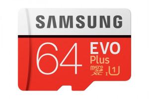Samsung micro SDXC 64GB EVO Plus + SD adaptér MB-MC64HA/EU