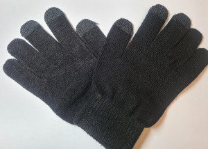 Rukavice na dotykový displej Černé