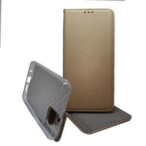 Puzdro Smart Case Book pre Poco M3 Zlaté