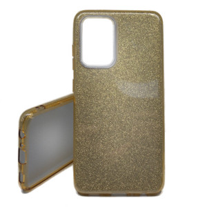 Pouzdro Shine Case pro Samsung Galaxy A52 LTE/5G, A525 / A526 Zlaté