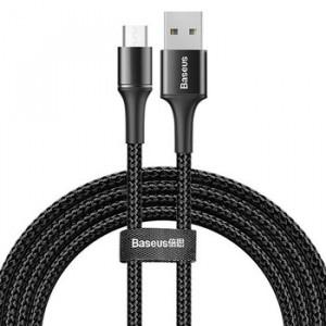 Baseus Kábel USB Halo Micro USB 2A 2 metry CAMGH-C01 Černý