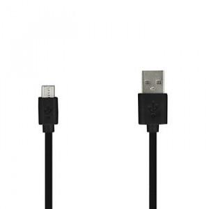 Usb kábel Micro USB 2 Metry Černý