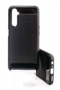 Puzdro CARBON LUX Realme 6s Černé