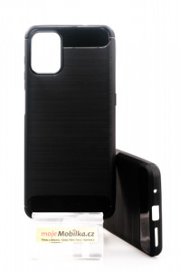 Puzdro CARBON LUX Motorola G9 Plus Černé