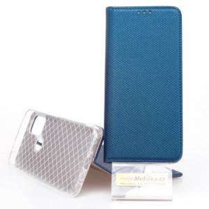 Puzdro Smart Case Book Motorola G10 Modré