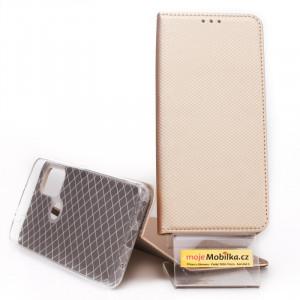Puzdro Smart Case Book Motorola G10 Zlaté