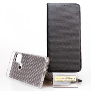 Puzdro Smart Case Book Motorola G30 Černé