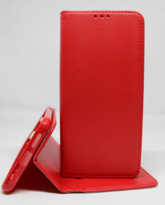 Puzdro Smart Case Book pre Xiaomi Redmi Note 10 / Redmi Note 10S Červené
