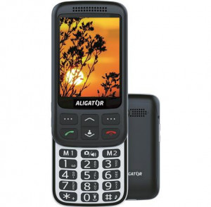 Aligator VS900 silver/Black AVS900BS