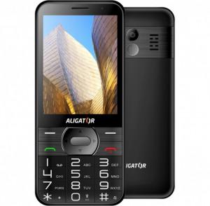 ALIGATOR A900 Senior čierny A900B