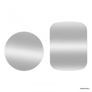 Sada 2ks plíšků vhodných pro magnetické držáky, stříbrné
