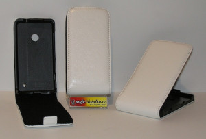 Pouzdro FLIP Nokia Lumia 625 Bílé