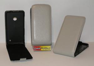 Pouzdro FLIP Nokia Lumia 625 Šedé