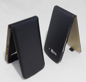 Pouzdro ForCell Slim flip flexi Alcatel 7047D One Touch Pop C9 Černé