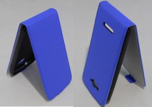 Pouzdro ForCell Slim Flip Flexi Alcatel One Touch Pop C7 Modré