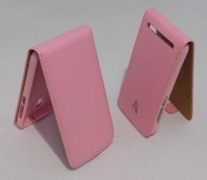 Pouzdro Forcell Flip Flexi Alcatel One Touch 6036,6016 Idol 2 Mini S/Idol 2 mini Růžové