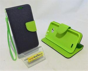 Pouzdro Fancy Case LG L70 / D320 Modré
