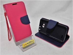Pouzdro Fancy Case LG L70 / D320 Růžové