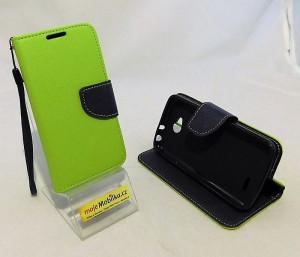Pouzdro Fancy Case LG L70 / D320 Limetka