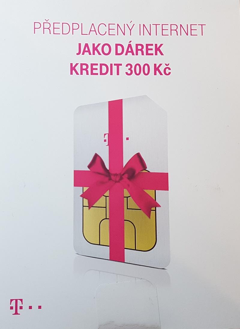 TWIST sim Předplacený internet s kreditem 200kč