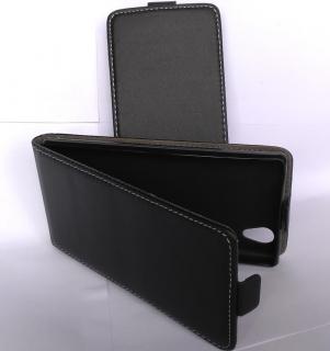 ForCell Slim Flip Flexi Fresh Pouzdro Black pro Lenovo P70