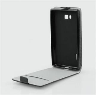 Pouzdro ForCell Slim Flip Flexi Samsung Galaxy Xcover 3 G388 černé