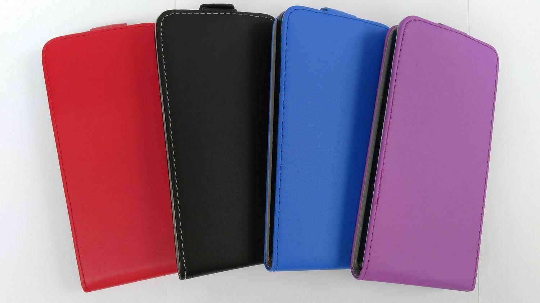 Pouzdro ForCell Slim Flip Flexi Huawei Ascend P8 Lite Světle fialové
