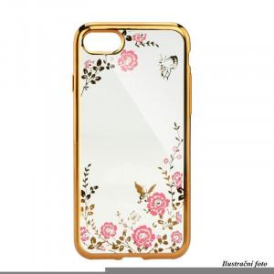 Pouzdro Diamonds TPU iPHONE 6 Květiny