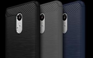 Pouzdro CARBON LUX Xiaomi Redmi 3 šedé