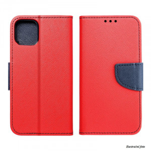 Pouzdro TEL1 Fancy Diary Microsoft Lumia 435 Červené