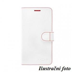 Puzdro typu kniha FIXED FIT pre ALCATEL POP 4 5051D, biele