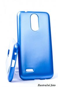 Pouzdro Jelly Case Flash Mat pro Samsung A40 A405 Modré