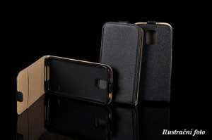 ForCell Slim Flip Flexi Fresh Pouzdro Black pro Samsung G360 Galaxy Core Prime