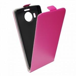 Puzdro Forcell Slim Flip 2 flexi Microsoft Lumia 535 Růžové